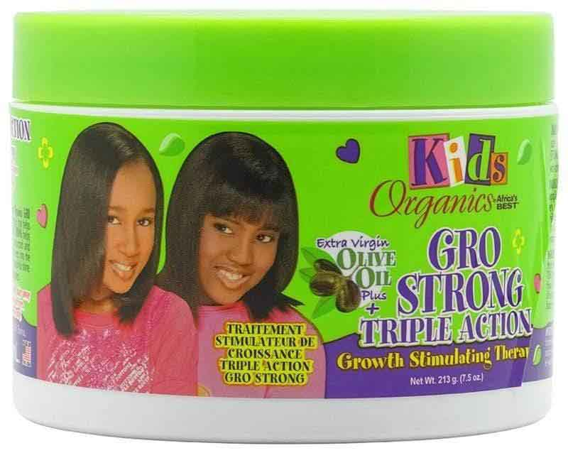 Africa's Best Africa's Best Organics Kids Gro Strong Triple Action Therapy 222ml                      data-zoom=
