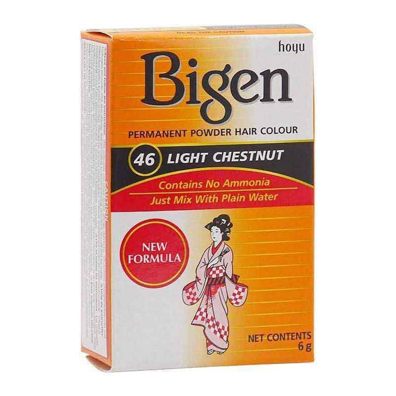 Bigen Bigen Permanent Powder Hair Color Light Chestnut-46