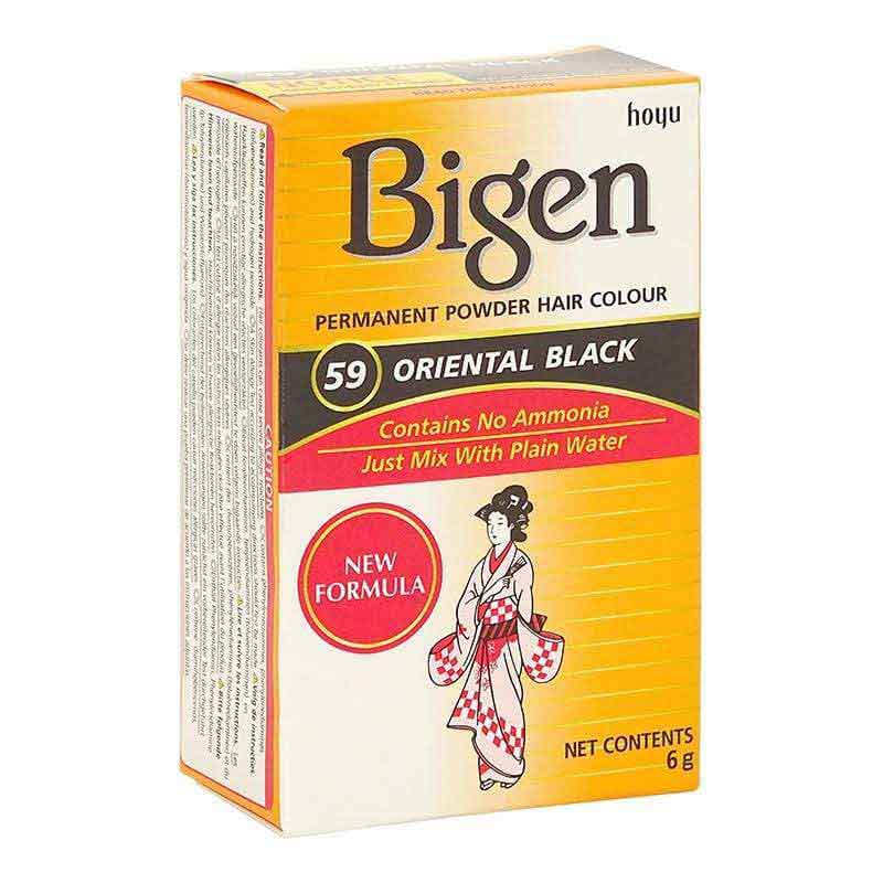 Bigen Bigen Permanent Powder Hair Color Oriental Black-59