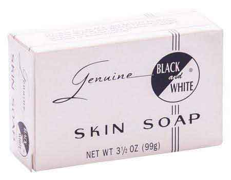 Black and White Genuine Black and White Skin Soap 99g