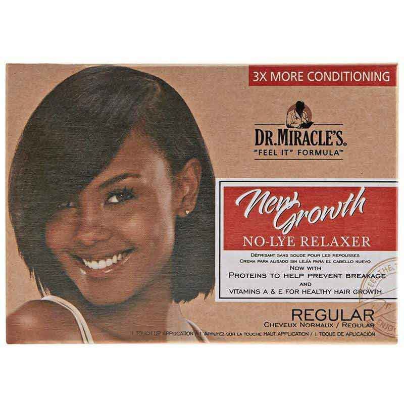 Dr. Miracle's Dr. Miracle's New Growth Relaxer Kit Regular Regular                      data-zoom=