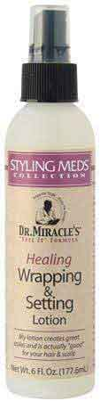 Dr. Miracle's Dr. Miracles Healing Wrapping and Setting Lotion 177ml