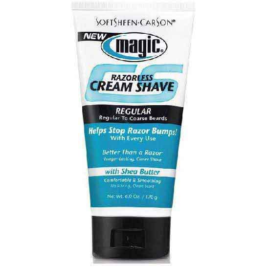 Magic Magic Razorless Cream Shave Regular 177ml