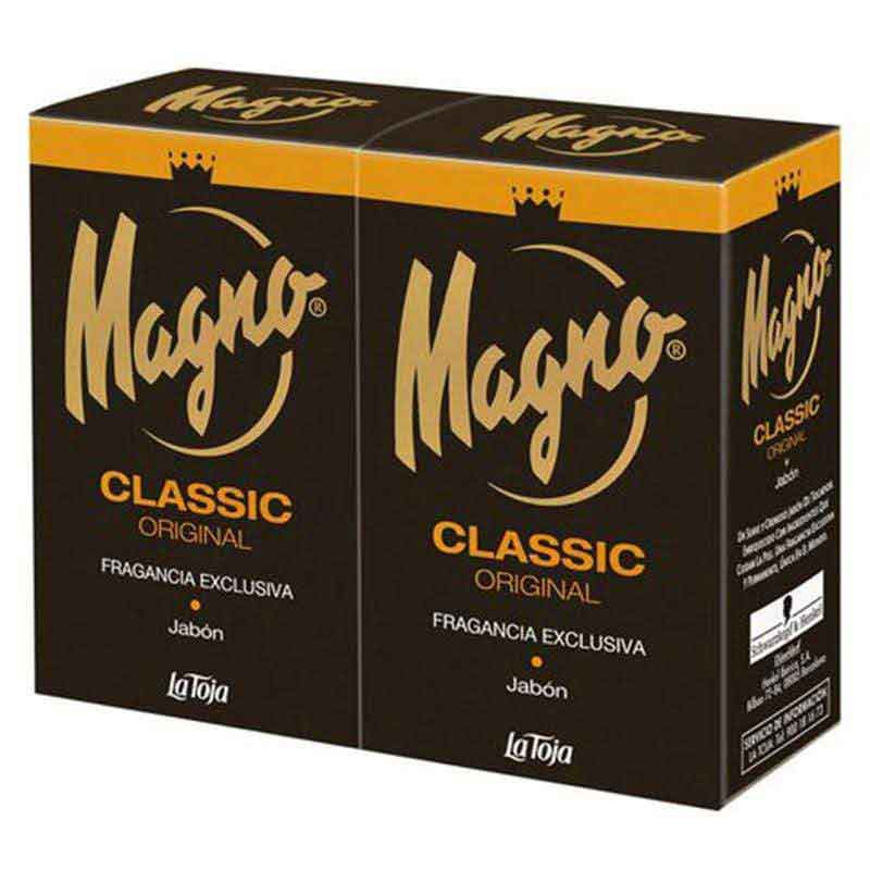 Magno Magno Soap Classic 125g Twinpack