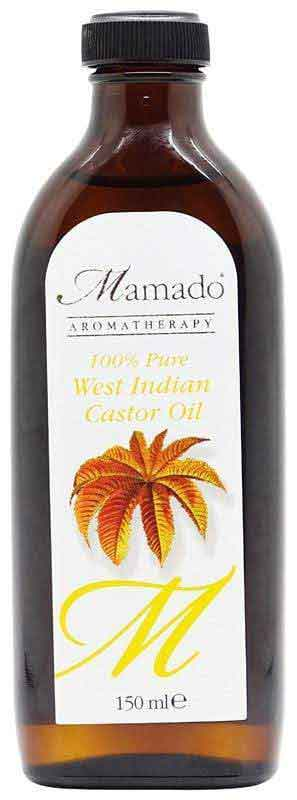Mamado Mamado 100 % Pure West Indian Castor Oil 150ml                      data-zoom=