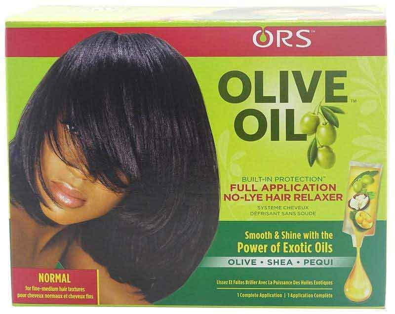 ORS ORS Olive Oil Built-In Protection No Lye Relaxer, Normal