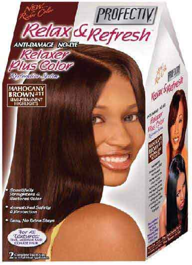 Profectiv Profectiv Relax and Refresh Anti Damage Relaxer Plus Color Mahagony Brown 11                      data-zoom=