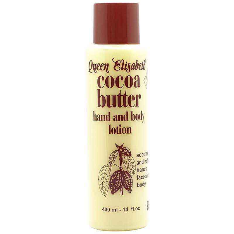 Queen Elisabeth Queen Elisabeth Cocoa Butter Hand and Body Lotion 400ml