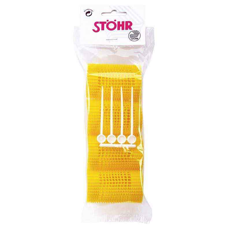 Stohr Stohr hair curlers with needles Yellow