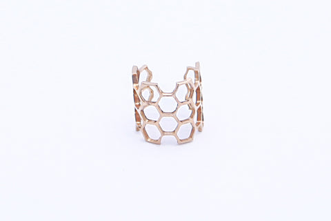 Honeycomb Midi Ring