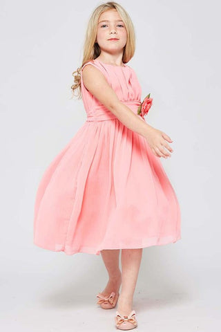 GG3534 GIRLS CHIFFON DRESS