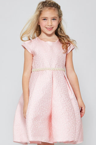 GG3558  EMBELLISHED GIRLS DRESS