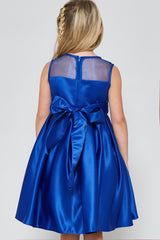 GG3574 SATIN DRESS