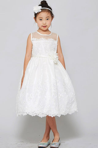 GG3555 EMBROIDERED GIRLS DRESS