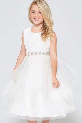 GG3573 TULLE GIRLS DRESS