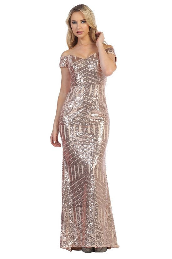 LF7226 SEQUENCE GOWN