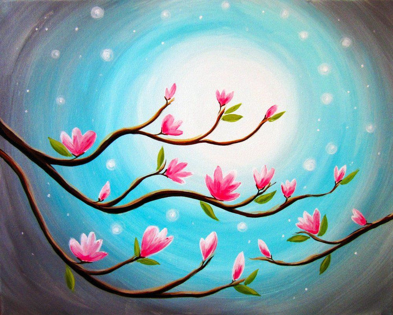 Budding Blossoms - Paint at Home Kit