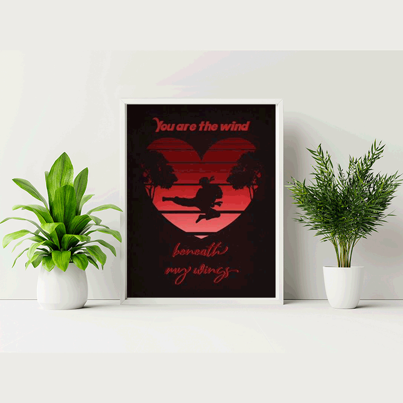 You Are the Wind Print