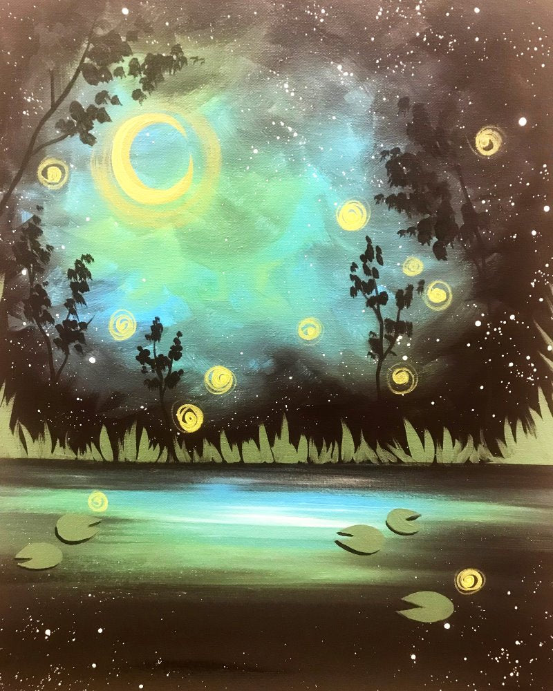 Firefly Pond - Paint at Home Kit