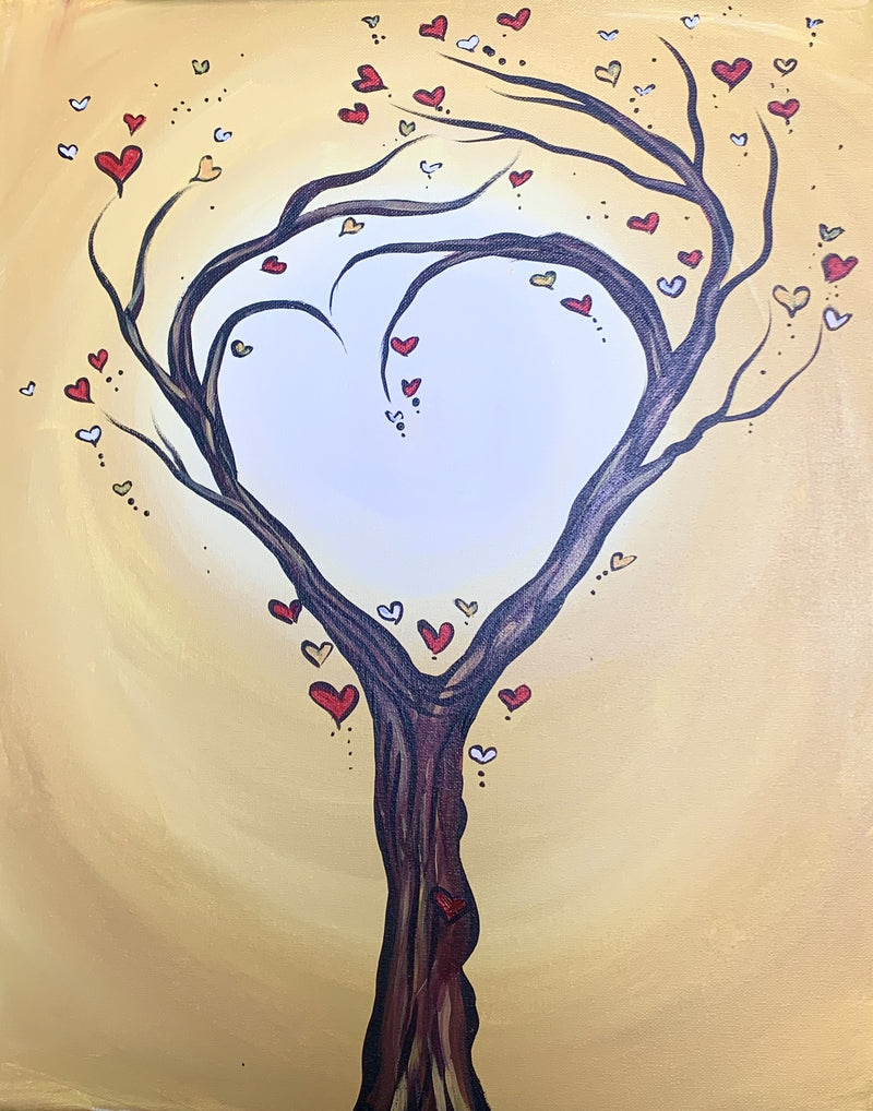 Love Tree - Paint at Home Kit