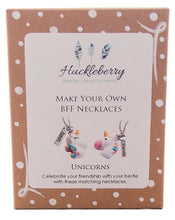 Load image into Gallery viewer, MYO BFF Unicorn Necklaces - Huckleberry