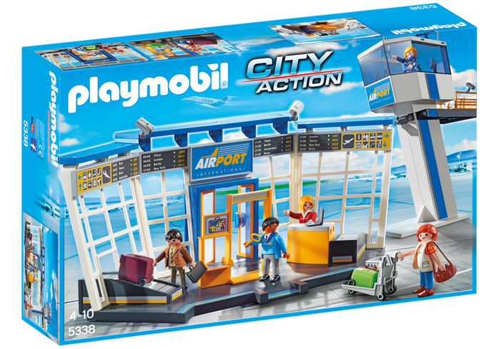 Playmobil Airport with Control Tower