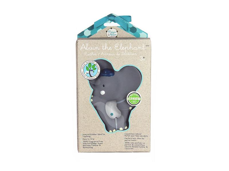 Alvin The Elephant Natural Teether