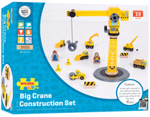 Load image into Gallery viewer, Big Jigs Crane Construction Set