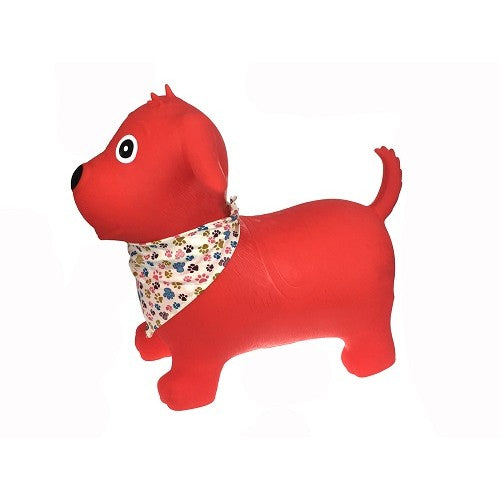 Bouncy Rider - Red Dog - Kaper Kidz