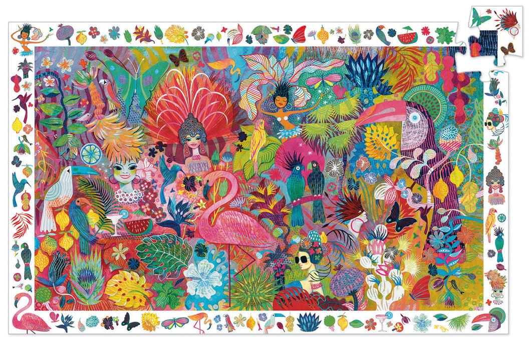 Rio Carnaval 200pc Puzzle by Djeco