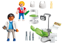 Load image into Gallery viewer, Playmobil Dentist with Patient