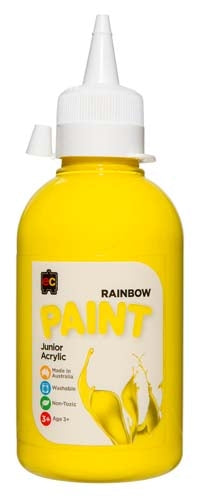 Rainbow 250ml Brilliant Yellow