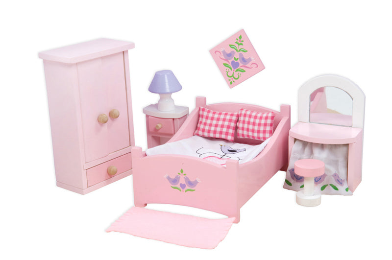 Dollhouse Furniture - Bedroom  Sugar Plum