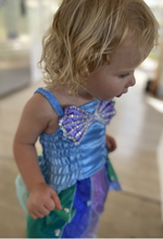 Load image into Gallery viewer, Aqua Mermaid Dress
