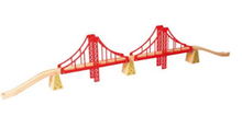 Load image into Gallery viewer, Big Jigs Rail Double Suspension Bridge