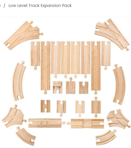 Big Jigs Rail Low Level Rail Expansion Set