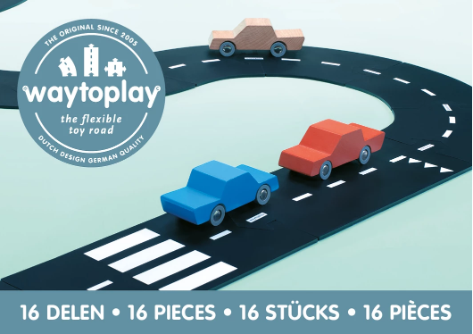 Way To Play Road Set - Expressway 16pc