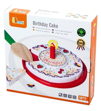 Load image into Gallery viewer, Birthday Cake Wooden - Viga