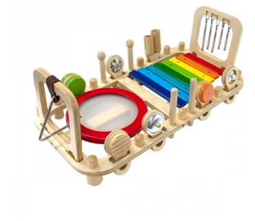 Melody Music Bench Wall Toy