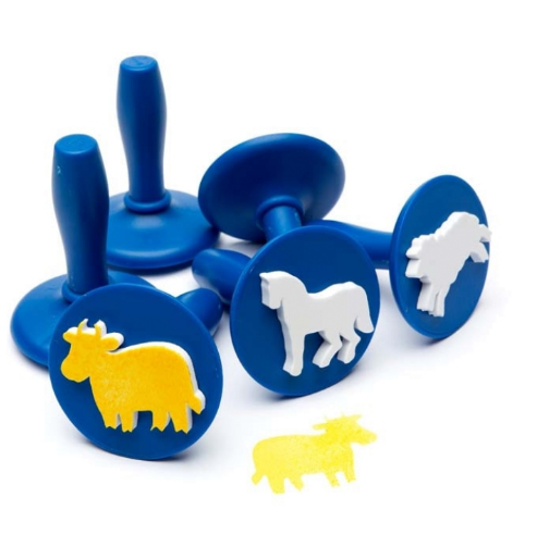 Paint and Dough Stampers Farm Animals