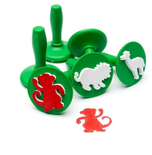 Paint and Dough Stampers Jungle Animals