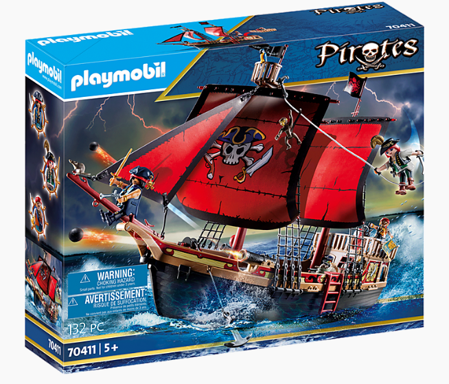 Plymobil Pirate Ship 70411