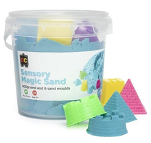 Load image into Gallery viewer, Sensory Magic Sand with Moulds 600gm Tub