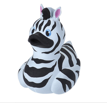 Load image into Gallery viewer, Rubber Duck - Zebra