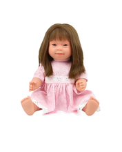 Load image into Gallery viewer, Down Syndrome Doll Boy Blonde 40cm