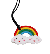 Load image into Gallery viewer, Jellystone Chew Pendant Rainbow
