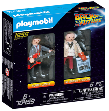 BTTF Marty & Doc set