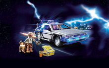 Load image into Gallery viewer, Playmobil Back To The Future Delorean