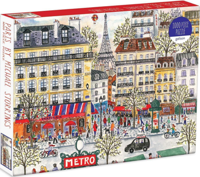 MudPuppy Puzzle Paris