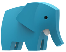 Load image into Gallery viewer, HALFTOYS Elephant